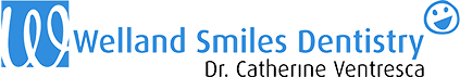 Welland Smiles Dentistry – Dr. Catherine Ventresca Logo